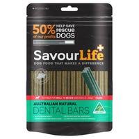 SavourLife Australian Natural Dental Bars for Small Medium Breeds - 8pk