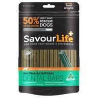 SavourLife Australian Natural Dental Bars for Medium Large Breeds - 5pk
