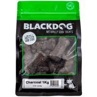 Blackdog Charcoal Biscuit Dog Treats - 1kg