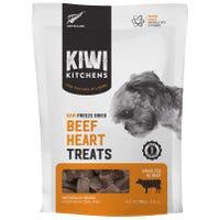 Kiwi Kitchens Freeze Dried Beef Heart Dog Treats - 100g