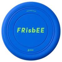 Gummi Silicone Frisbee Blue Dog Toy - Each