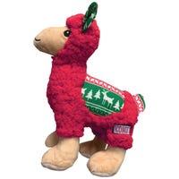 KONG Christmas Sherps Llama Dog Toy - Medium