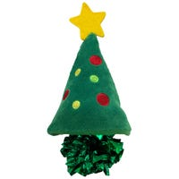 KONG Christmas Crackles Tree Cat Toy - Each
