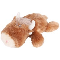 Kazoo Furries Lazy Ox Dog Toy - Medium