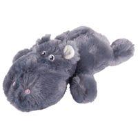 Kazoo Furries Lazy Hippo Dog Toy - Medium