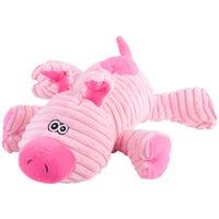 Kazoo Furries Funky Pig Dog Toy - Medium