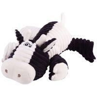 Kazoo Furries Funky Cow Dog Toy - Medium