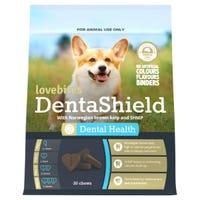 Lovebites Dentashield Dental Health Chews - 30pk