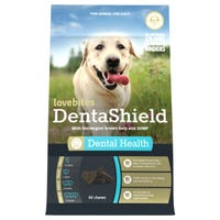 Lovebites Dentashield Dental Health Chews - 60pk