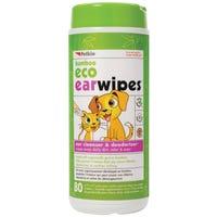 Petkin Bamboo Eco Ear Cleaner Wipes - 80pk