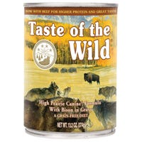 Taste of the Wild Adult High Prairie Wet Dog Food - 374g