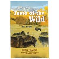 Taste of the Wild Adult High Prairie Dry Dog Food - 18.14kg