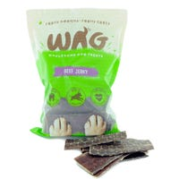 WAG Beef Jerky Dog Treats - 750g