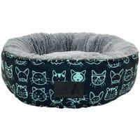 La Doggie Vita Kitty Club Round Cat Bed - Each