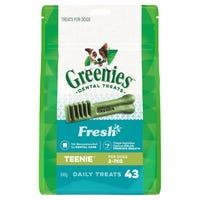 Greenies Mint Teenie Dental Dog Treats Pack - 43pk