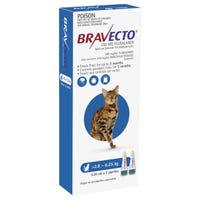 Bravecto Flea & Tick 2.8-6.25kg Cat Spot On - 2pk