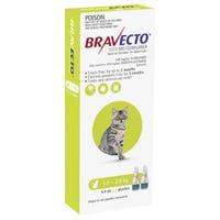 Bravecto Flea & Tick 1.2-2.8kg Cat Spot On - 2pk