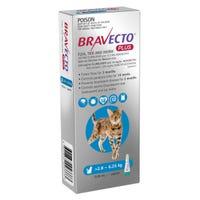 Bravecto Plus Cat Flea, Tick And Worming Medium 2.8-6kg - 1pk