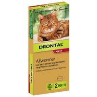Drontal Cat Wormer Tablets 6kg - 2pk