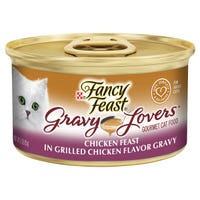 Fancy Feast Gravy Lovers Chicken Feast Wet Cat Food - 85g