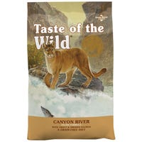 Taste of the Wild Canyon River Trout & Salmon Dry Cat Food - 2kg