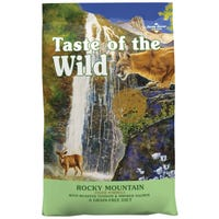 Taste of the Wild Rocky Mountain Venison & Salmon Dry Cat Food - 2kg