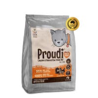 Proudi Cat Turkey and Chicken Frozen Raw Cat Food - 1.2kg