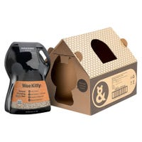 Rufus & Coco Wee Kitty Corn Cat Litter 4kg - 4pk