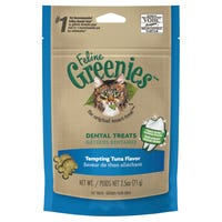 Greenies Feline Dental Tuna Cat Treats - 71g