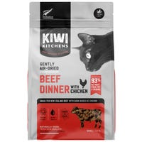 Kiwi Kitchens Air Dried  Beef & Chicken Dry Cat Food - 500g
