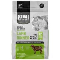 Kiwi Kitchens Air Dried Lamb & Mackeral Cat Food - 500g
