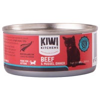 Kiwi Kitchens Kitten Beef and Mussel Wet Cat Food - 85g