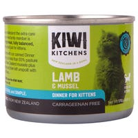 Kiwi Kitchens Kitten Lamb and Mussel Wet Cat Food - 170g