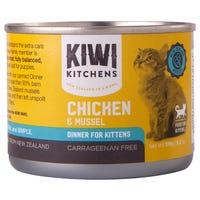 Kiwi Kitchens Kitten Chicken and Mussel Wet Cat Food - 170g