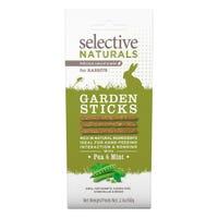 Selective Naturals Garden Sticks Rabbit Treats - 60g