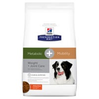 Hill's Prescription Diet Canine Metabolic J/D Metabolic and Joint Care Dog Dry Food - 3.56kg