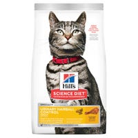 Hill's Science Diet Feline Adult Urinary Hairball Control Dry Cat Food - 1.58kg