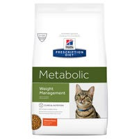 Hills Prescription Diet Feline Metabolic Dry Cat Food - 3.85kg