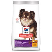 Hill's Science Diet Adult Dog Small Breed Senstive Stomach and Skin Dry Dog Food - 1.81kg