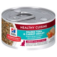 Hill's Science Diet Feline Adult Tuna and Carrot Medley Wet Cat Food - 79g