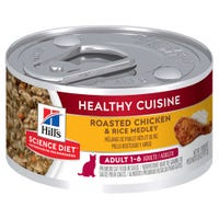 Hill's Science Diet Feline Adult Chicken and Rice Wet Cat Food - 79g