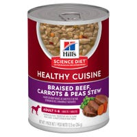 Hill's Science Diet Canine Adult Beef Stew Wet Dog Food - 354g