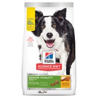 Hill's Science Diet Senior Vitality 7+ Chicken & Rice Dry Dog Food - 1.58kg | Best Friends Pets