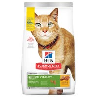 Hill's Science Diet Senior Vitality 7+ Chicken Dry Cat Food - 2.72kg | Best Friends Pets