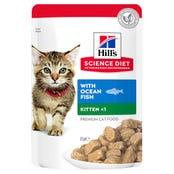 Hill's Science Diet Feline Kitten Ocean Fish Wet Cat Food - 85g