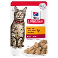 Hills Science Diet Feline Adult Chicken Wet Cat Food - 85g