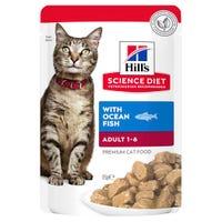 Hill's Science Diet Adult Cat Ocean Fish Wet Cat Food - 85g
