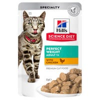 Hill's Science Diet Feline Adult Perfect Weight Wet Cat Food - 85g