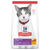 Hill's Science Diet Feline Mature 11+ Dry Cat Food - 1.58kg