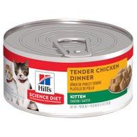 Hill's Science Diet Feline Kitten Tender Chicken Dinner Wet Cat Food - 156g